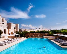 Borgo Egnazia, between Bari and Brindisi, it's an ideal  location for company meetings and conferences