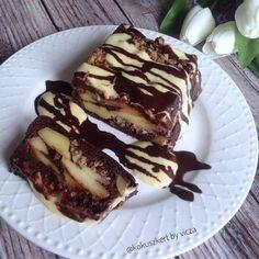 Éhezésmentes karcsúság Szafival - Gluténmentes fordított almás süti