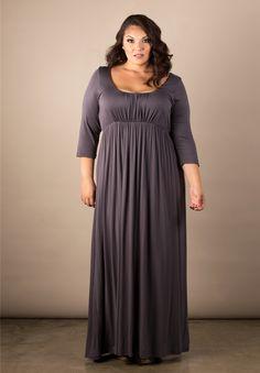Plus Size Dresses   Lois Maxi Dress   Swakdesigns.com