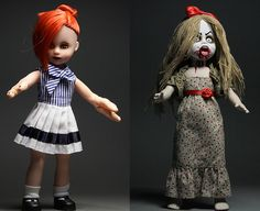 Living Dead Dolls Serie 30 Bundle / Set - Lydia The Lobster Girl + Lucy The Geek