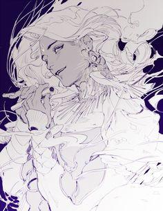 Character Character Concept, Character Art, Concept Art, Kunst Inspo, Art Inspo, Art And Illustration, Fantasy Kunst, Fantasy Art, Anime Kunst