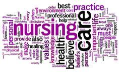 nurse picture of words | Philosophy of Nursing | SarahThe