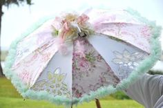 My Heart's Ease: Parasol & Silhouettes at Art Event