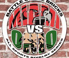 Battle of the Bricks:  The Miami RedHawks take on Ohio University for a 3:30 p.m. showdown Saturday, Oct. 27 at Yager Stadium! --- WE WON!!