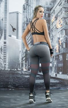 These Elektra Super Hero Leggings from Fiber are great for working out, casual…