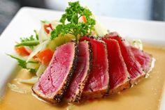 sashimi tuna recipes seared | Seared Ahi Tuna with Sesame Seeds and Ginger Sauce | Pittsburgh Hot ...