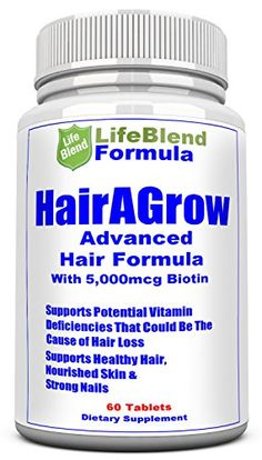 Advanced Hair Growth Formula For Longer Stronger Healthier Hair  Scientifically Formulated with Biotin Keratin Bamboo for Silky  Soft Hair Glowing Skin and Strong Nails *** Click on the image for additional details.