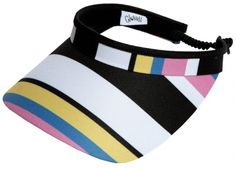 Check out our Cabana Stripe Glove It Ladies Print Golf Visors (w/ Twist Cord)! Find the best golf gear and accessories at Lori's Golf Shoppe. Click through now to see this Golf Visors!