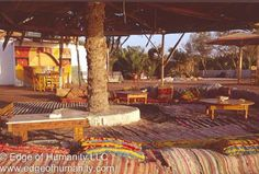 Restaurant in Dahab, Sinai, Egypt