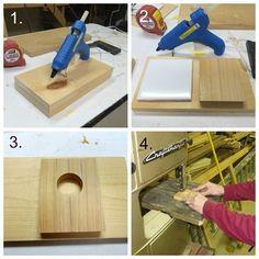 How to Make a Glue Gun Holder
