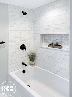 Hall Bathroom, Upstairs Bathrooms, Bathroom Renos, Family Bathroom, Master Bathroom, Small Bathroom Renovations, Bathroom Remodeling, Bathroom Fixtures, Tile For Small Bathroom