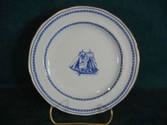 Spode Blue Trade Winds W146 Fine Stone Bread and Butter Plate(s)