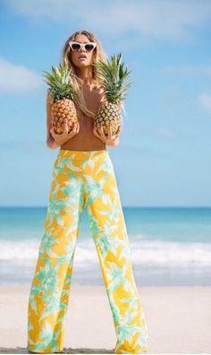 Salade de fruit ! #ananas desfoutas.com