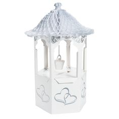 Wishing Well Wedding Card Holder - OrientalTrading.com
