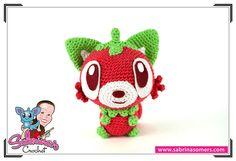 Strawraccoon - Crochet Pattern - Amigurumi