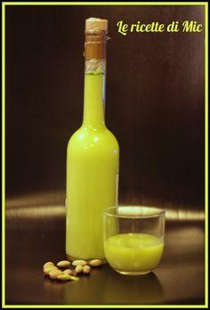 liquore di crema di pistacchio | Le ricette di Mic