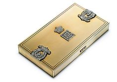 A large vanity case with diamonds - Cartier Collection - Maison Cartier