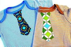 Boys Applique Tie Tutorial/pattern...when we want to dress it up a notch : )