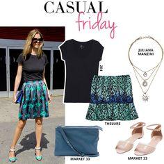 Compre moda com conteúdo, www.oqvestir.com.br #Fashion #Thelure #Market33 #JulianaManzini #284 #Pretty #Summer #Look #Print #Friday