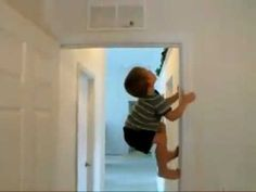 I can totally see my child doing this in a year...