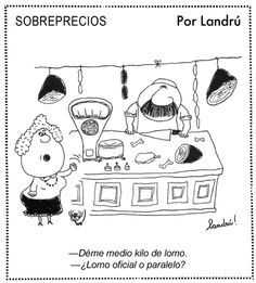 Sobreprecios -Landrú