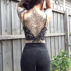 Top 10 Back Tattoos For Women