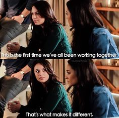 Pretty Little Liars - Mona & Emily Pretty Little Liars Quotes, Pretty Little Liers, Pretty Little Liars Seasons, Family Show, Abc Family, Misery Loves Company, Drama Tv Shows, Favorite Tv Shows, My Favorite Things