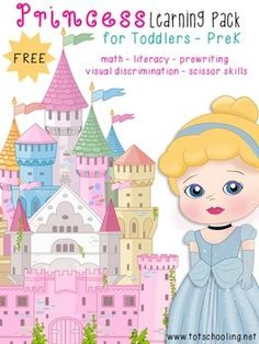 FREE Princess Learning Pack for PreK