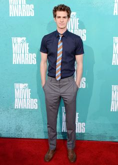 the shirt the tie and the pants. not the shoes.
