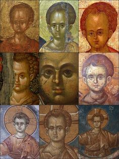 Photo Byzantine Icons, Byzantine Art, Roman Church, Orthodox Icons, Sacred Art, Christian Art, Fresco, Jesus Christ, Christianity