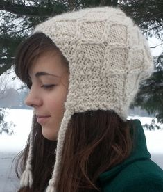 "The beautiful details of our Cusco Hat will have everyone asking you where  you got it! Warm, functional and unique, knit one for yourself or that  special someone today!. Instructions are included for both adult and child  sizes.    Experience Level: Intermediate: Adult sizes: Small/Medium (20-21"" head  circumference), Large/Extra Large (22-24"" head circumference); Child sizes:  Infant size 0-6 months (16 1/2-17 1/2 head circumference), Toddler/Child  (18-19"" head ..."