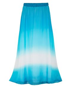 WHBM Ombre Maxi Skirt  #whbm #summer Love the color