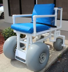 Rolleez Beach Wheelchair Rolleez - HealthLine Medical Value Beach Wheelchairs | TopMobility.com