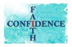 Life is a hard work: Faith & Confidence