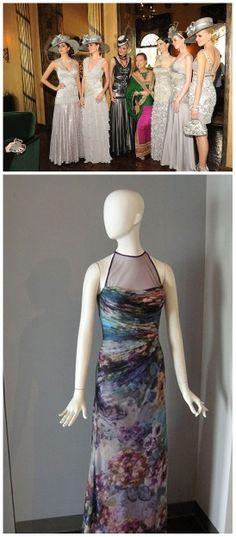 Vintage Sue Wong and Kevan Hall Fashion. (http://www.apparelnews.net/news/2014/jan/08/designers-sue-wong-and-kevan-hall-la-jewelry-antiq/) #Vintage #Sue #Wong #Kevan #Hall #Fashion #California #Designers #FIDM #LA #ApparelNews