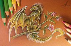 Gold Dragon by Alvia Alcedo