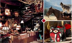 I LOVE all the Ralph Lauren Beacon Print stuff, inspired by the American West