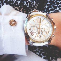 Michael Kors Watch Luxury Watches, Michael Kors Watch, Leather, Accessories, Fashion, Fancy Watches, Moda, Fashion Styles, Fashion Illustrations
