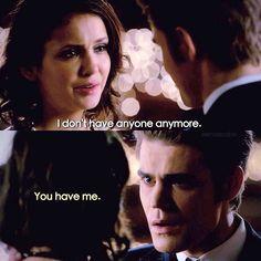 #TVD The Vampire Diaries  Elena & Stefan