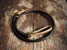 Black cord rein with brass hardware | Flickr - Photo Sharing!