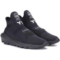 Suberou black fabric sneakers by Y-3. Scarpe Da Ginnastica Da Uomo 422dc5e5764