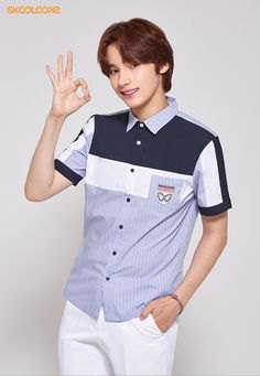 K Pop Star, Brand Ambassador, Korean Singer, Boys Who, Boy Groups, Chef Jackets, Polo Ralph Lauren, Guys, Mens Tops