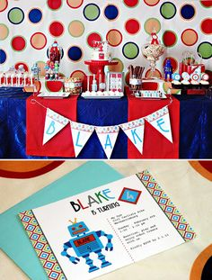 For the joint 5 & 1 year old birthday party.