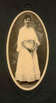 Rose Wilder, diploma photo. Daughter of Almanzo and Laura Ingalls Wilder