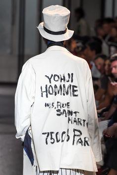 ヨウジヤマモト(Yohji Yamamoto) 2017年春夏コレクション Gallery26