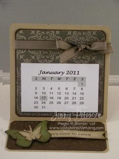 coaster and easel card