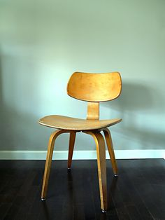 Thonet Mid Century Bent Plywood Chair