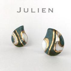 Ceramic Jewelry, Resin Jewelry, Beaded Jewelry, Handmade Jewelry, Jewelry Design Earrings, Vintage Cufflinks, Polymer Clay Earrings, Diy Resin Art, Bracelets For Men