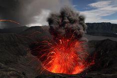 El volcán Bromo de Indonesia, fotografía de Martin Rietze
