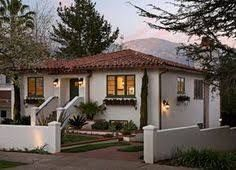 Image Result For Spanish Bungalow Blue Awnings Spanish Style Homes Spanish House Mediterranean Homes